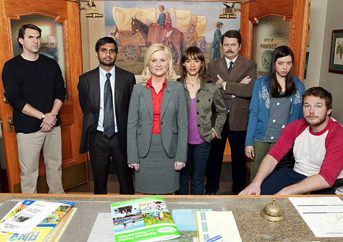 Leslie Knope and her Devoted Crew