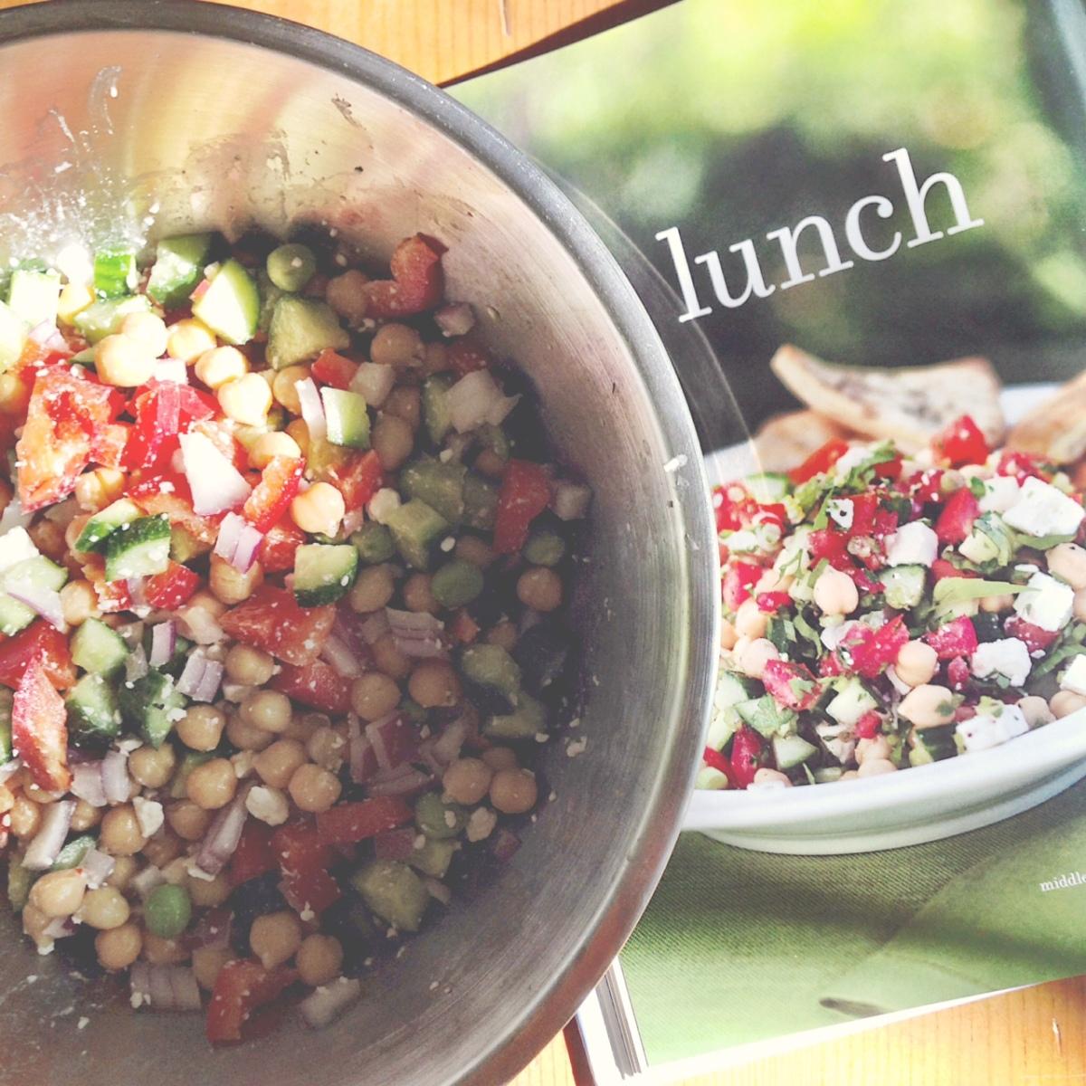 Middle Eastern Vegetable Salad 7.5/10